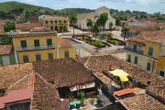 Rooftops of Trinidad Royalty Free Stock Photo