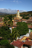 Rooftops - Trinidad, Cuba Royalty Free Stock Photography