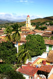Rooftops - Trinidad, Cuba Royalty Free Stock Images
