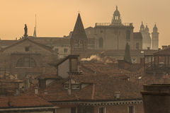 Rooftops of Venice Royalty Free Stock Photography