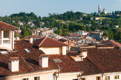 Rooftops in Vicenza Royalty Free Stock Photo