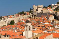 Rooftops. View of the old town. Dubrovnik. Croatia Royalty Free Stock Photo
