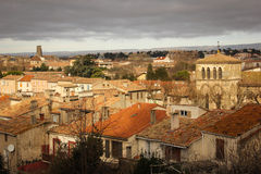 Rooftops of the village. Carcassonne. France Stock Photography