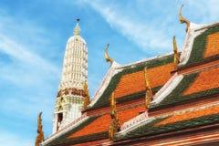 Rooftops at Wat Arun Temple Stock Photos