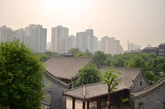 Rooftops of Xi'an Royalty Free Stock Photos
