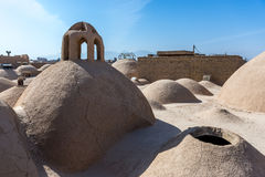 Rooftops in Yazd Stock Photography