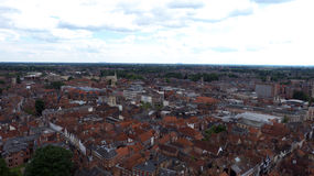 The rooftops of York Royalty Free Stock Photos