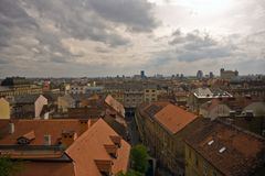 Rooftops of Zagreb Stock Photos