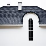 Roofvilla photos stock