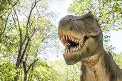 Roofzuchtige dinosaurus stock afbeelding