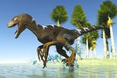 Roofzuchtige dinosaurus royalty-vrije illustratie