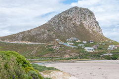 Rooi Els town between Gordons Bay and Kleinmond Stock Photos