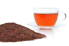 Rooibos in a cup. Stock Photos