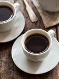 Rooibos czerwona kawa espresso od Południowa Afryka Obrazy Stock