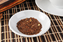 Rooibos Tea. A sample dish of rooibos tea Stock Photo