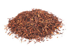 Rooibos tea. On white close up Stock Image