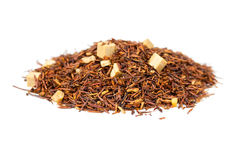 Rooibos tea with caramel Royalty Free Stock Photo