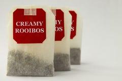 Rooibos-Teebeutel stockfoto