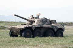Rooikat Armoured Fighting Vehicle Royalty Free Stock Images