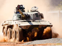 Rooikat armoured vehicle Royalty Free Stock Photos