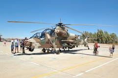 Rooivalk攻击用直升机,布隆方丹,南非 免版税库存图片