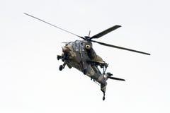 rooivalk africain d'hélicoptère de force d'attaque aérienne du sud Photo stock