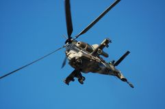 Rooivalk attack helicopter. From the South African Air Force Stock Photos