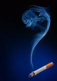 Rook als vraagteken Stock Afbeelding