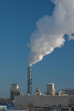 Rook die van fabriek toeneemt Stock Fotografie