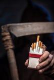 Rook dit en u zult dood zijn Stock Foto's