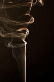 Rook en zijde Royalty-vrije Stock Foto