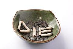Rook tot u sterft Stock Foto's