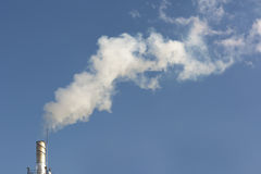 Rook van de steel Stock Foto