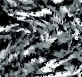 Rook van explosieeffect computer voor achtergrond en behangontwerp dat wordt geproduceerd royalty-vrije illustratie