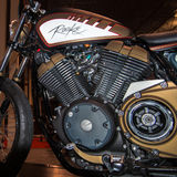 2014 Rooke-Maschine, Michigan-Motorrad-Show Lizenzfreie Stockfotografie