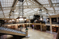 Rookery building interior Chicago Illinois royalty free stock images