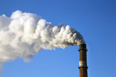 Rookfabriek Stock Afbeelding