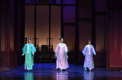 Rookie Palace-death feast-Modern drama Empresses in the Palace Stock Image
