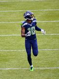 Rookie Paul Richardson Seattle Seahawks. The Rookie Paul Richardson Seattle Seahawks Royalty Free Stock Images