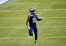 Rookie Paul Richardson Seattle Seahawks Royalty Free Stock Photo
