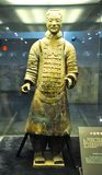 The rookie of the terracotta army. Terracotta Army royalty free stock photography