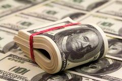 Rool di soldi Immagine Stock