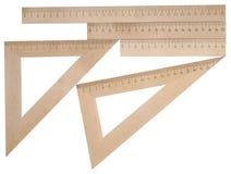 Roolers de madeira imagem de stock