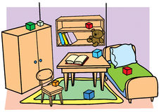 Room vector illustration