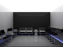 Room. Computer generated in Cinema 4D Stock Images