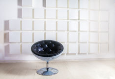 Room with armchair in modern style Royalty Free Stock Photos