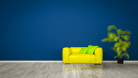 Room with an armchair Stock Photos