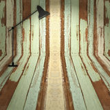 Room background with floor lamp Royalty Free Stock Image
