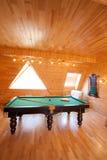 Room for billiards Stock Image