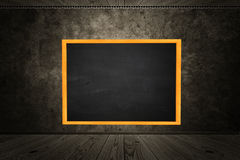 Room with blackboard Royalty Free Stock Photography